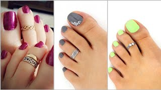 Silver Toe Ring Designs /Foot Jewelry Design 2020/