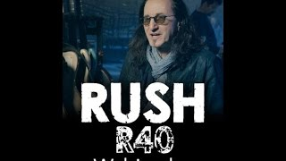 Rush - R40 Tour - Geddy Lee Webisode Part 2