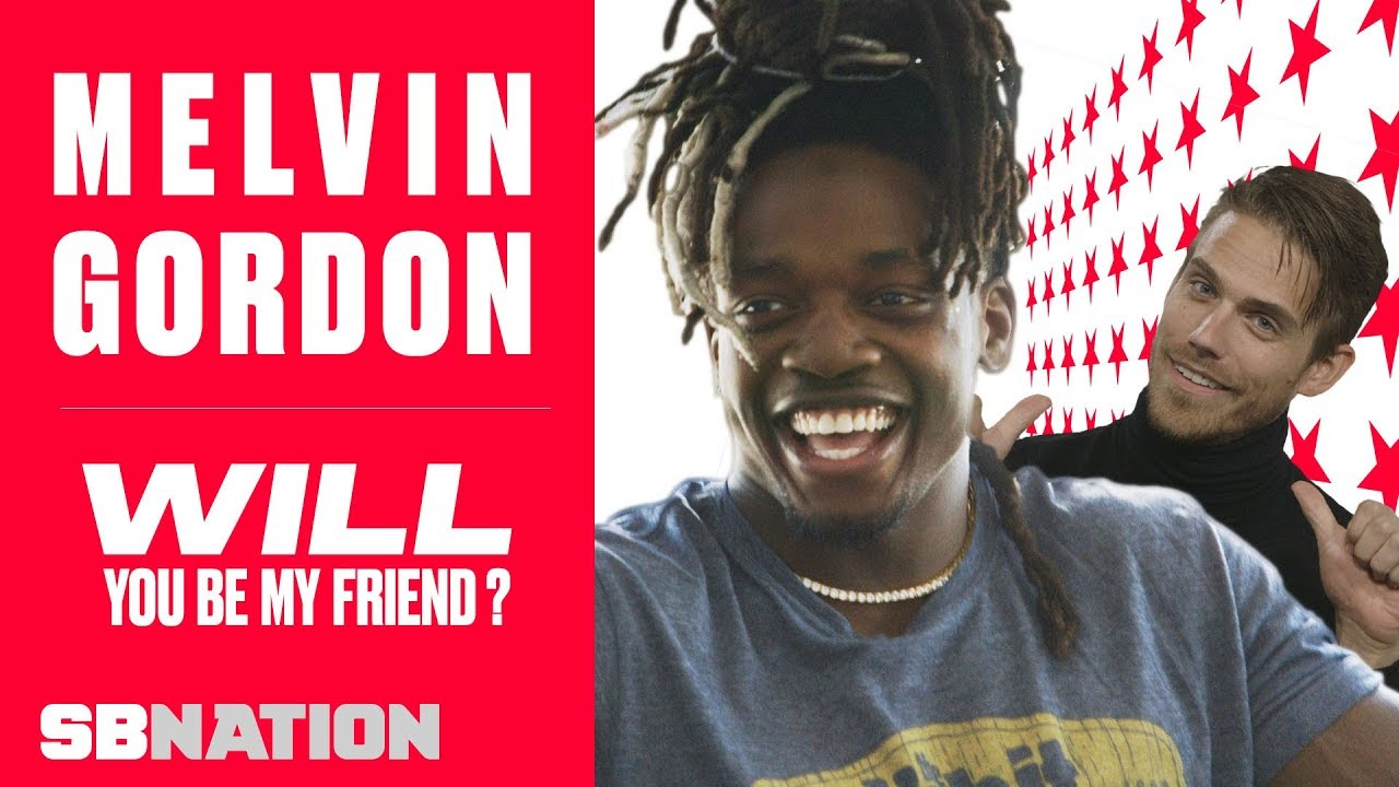 Melvin Gordon judges fashion, contemplates his calves | Will You Be My Friend, Ep 4 thumbnail