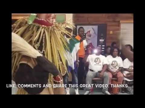 Sierra Leone cultural society USA Agbo play