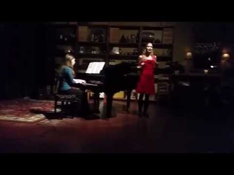 This is me singing Adele's second aria from Die Fledermaus at a performance with Opera on Tap Portland.