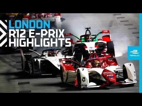 フォーミュラE ロンドンE-PRIX 決勝レースのハイライト動画