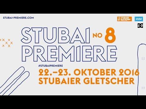 Snowpark Opening na lodowcu Stubai - Stubai Premiere No 8
