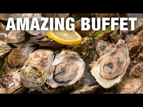 Spiral Buffet: The Most Amazing Buffet I've Ever Seen! (Manila Day 4)