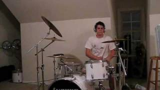 one by creed drum cover