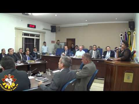 Sessão Solene dia 27 de Março de 2017 Juquitiba 52 anos - Cida Nunes