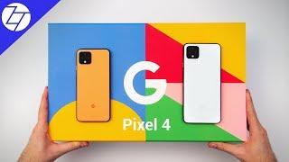 Google Pixel 4 & Google Pixel 4 XL - UNBOXING & Impressions!