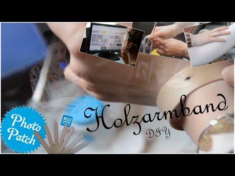 Holzarmband DIY - creleative