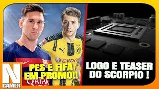 Promoção FUTEBOLEIRA na PSN / Xbox Scorpio LOGO + Teaser !! - Noberto Gamer
