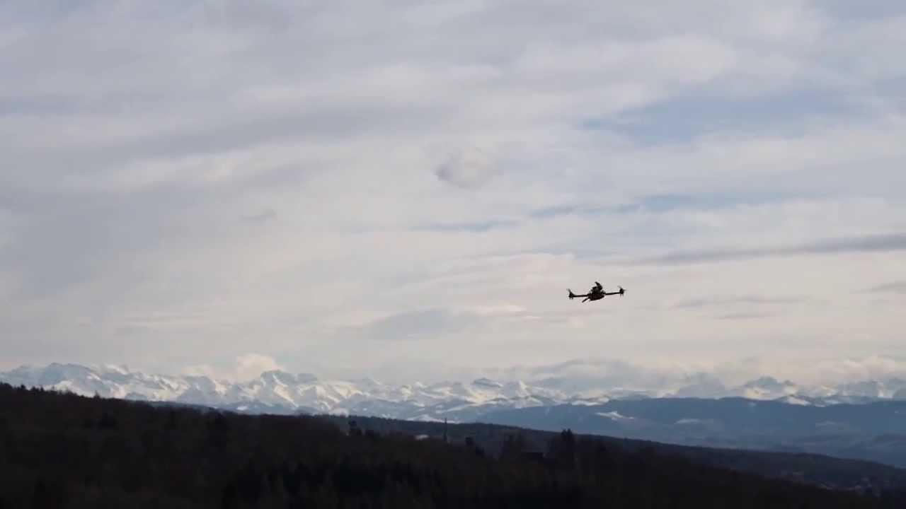 Meet The Uncrashable Drone