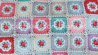 [코바늘] Cath Kidston Blanket / Handmade By Sunny