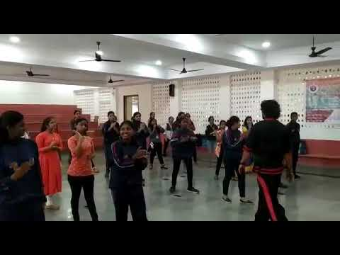 Free Self defence MARTIAL ARTS training for girls in dhyansadhna college thane