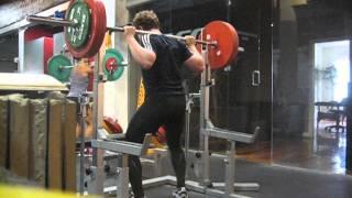 418lbs raw back squat atg