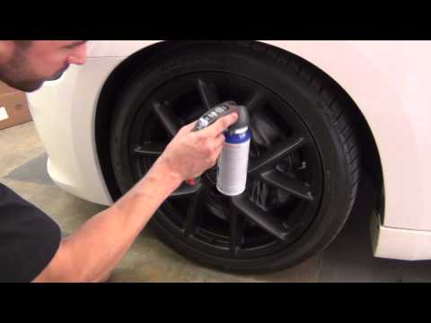 PlastiDip on Rims – New Brake Masking System!