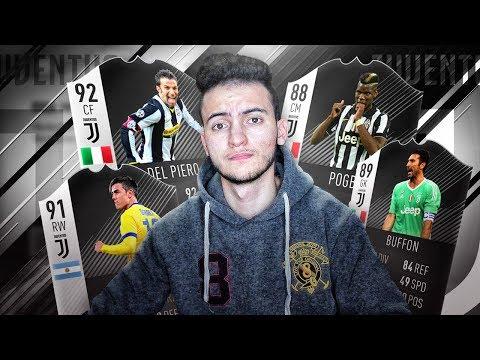 FIFA 18 | ⚪⚫ اليوفي بين الماضي والحاضر
