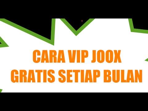 Video Cara Mendapatkan VIP Joox Gratis Sebulan Penuh Setiap Bulan