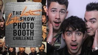 Three Second Photo Booth Challenge W Jonas Brothers