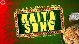 Biriyani Lovers Song | Raita Song | D A Vasanth | Sathish | Isaipettai Originals