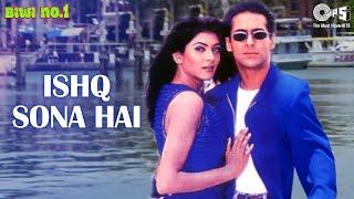 Ishq Sona Hai   Salman Khan   Sushmita Sen   Shankar Mahadevan   Hema Sardesai   Biwi No.1  90s Song