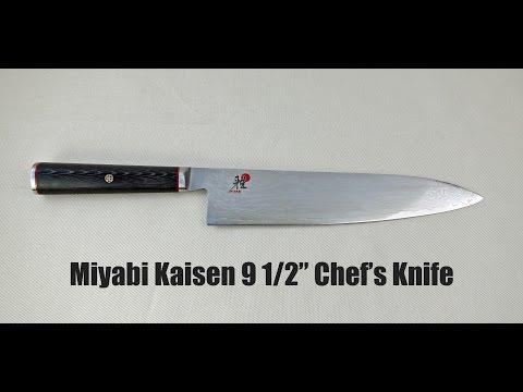 Miyabi Kaisen 9 1/2″ Chef's Knife Review
