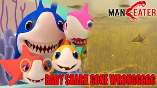 BABY SHARK GONE WRONG!!! - MANEATER GAMEPLAY INDONESIA