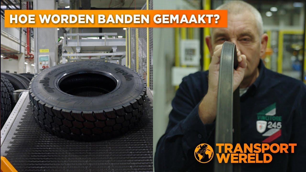 Hoeveel hightech zit er in een vrachtwagenband van Apollo Tyres?