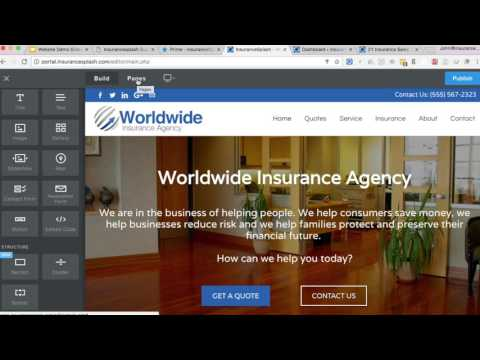 mp4 Insurance Agent Website Templates, download Insurance Agent Website Templates video klip Insurance Agent Website Templates