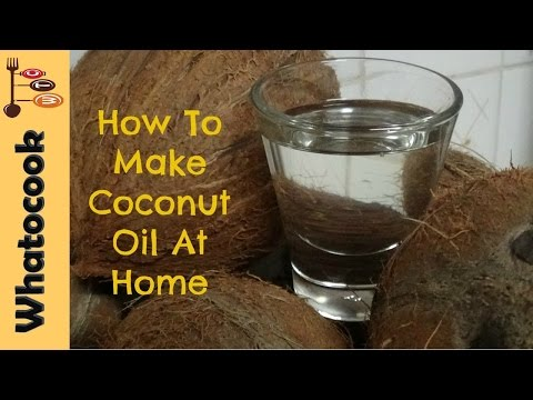 How To Make🌴Coconut Oil At Home