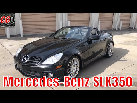 Overview: Mercedes-Benz SLK350 with AMG Sport Package