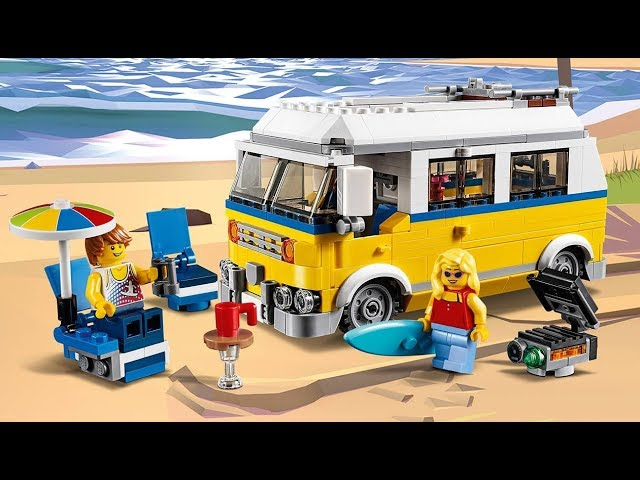 Sunshine Surfer Van - LEGO Creator 3in1 - 31079 - Product Animation