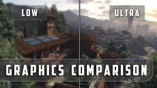 Grand Theft Auto 5 – Low vs. Ultra Graphics Comparison [FullHD][60fps]