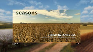 FS19 Nebraska Lands USA 4x Map Fly Thru