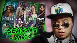 tekken 7 season 2 - मुफ्त ऑनलाइन वीडियो