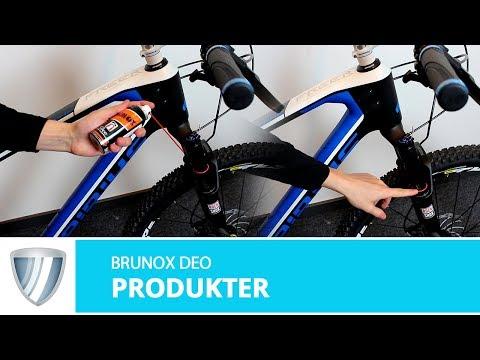 Brunox Deo beskytter suspension forgafler video