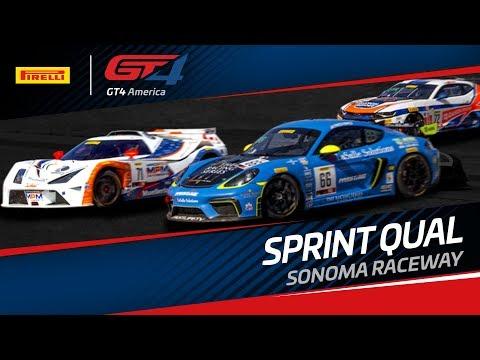 QUALIFYING - Pirelli GT4 Sprint - Sonoma 2019