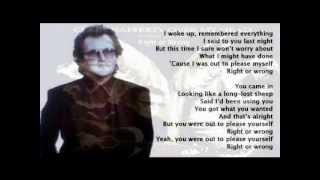 Gerry Rafferty - Right Or Wrong (+ lyrics 1994)