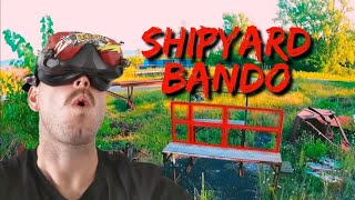 Abandoned Ship Yard! // FPV Freestyle