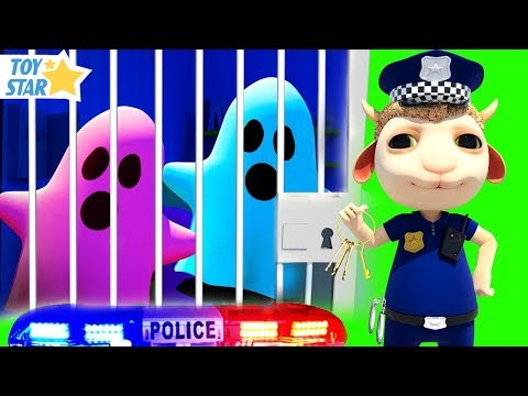 New 3D Cartoon For Kids ¦ Dolly And Friends ¦ Kids Police Jail Playhouse #98