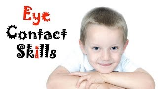 How to teach your kid EYE CONTACT SKILLS | Social Skills for Kids | Kreative Leadership