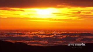 Sonnenaufgang im Wolkenmeer, Wetterwechsel