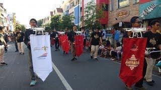 Pertama di Dunia, Parade Drone Meriahkan Festival Bregada Nusantara di Malioboro