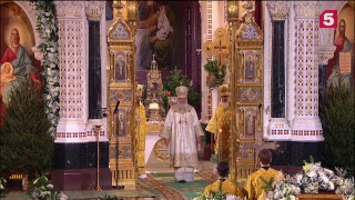 Прямая трансляция: Рождество Христово - 2019. Казанский собор и Храм Христа Спасителя