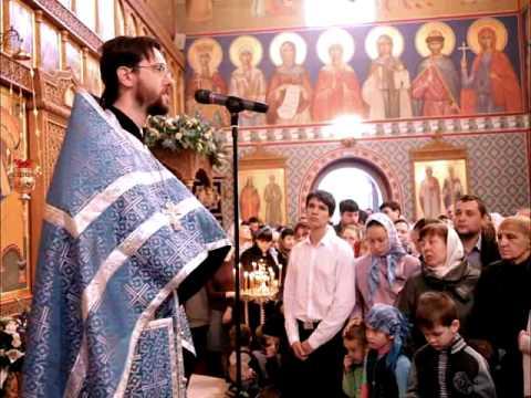 проповедь о Александра в престольный праздник