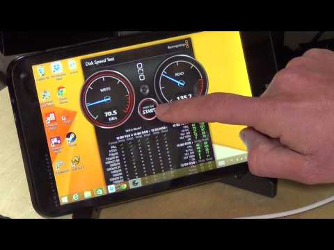 HP Stream 7 $99 Full Windows Tablet PC - SSD Disk Speed and Benchmark