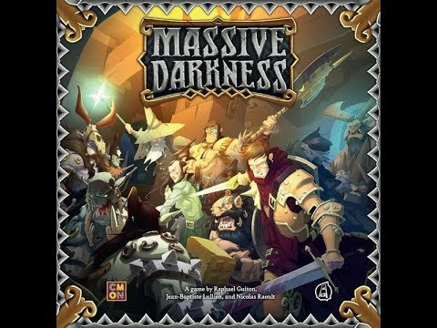 The Purge: # 2023 Massive Darkness: Massive Darkness Feldherr Foamcore: A look at the insert and how it holds the game and fits in the box