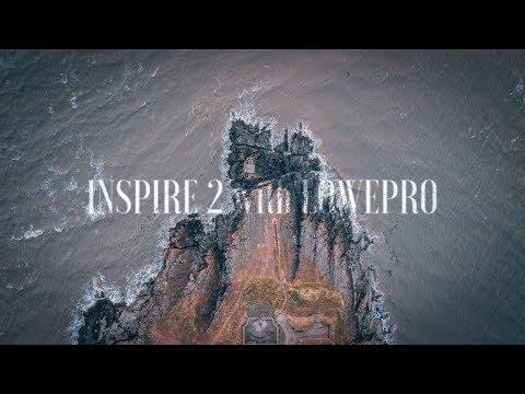 DJI INSPIRE 2 - LOWEPRO - SONY RX10 iii