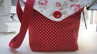 Reversible Messenger Bag Tutorial By Debbie Shore