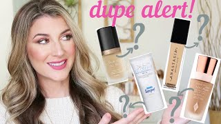 THESE DRUGSTORE FOUNDATIONS ARE JUST LIKE HIGH END!   DUPES FOR CHARLOTTE TILBURY, TOO FACED, ETC.