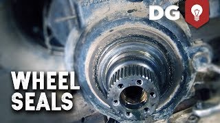 Front Axle & Wheel Seal Replacement On A 4WD Case IH (Part 1)