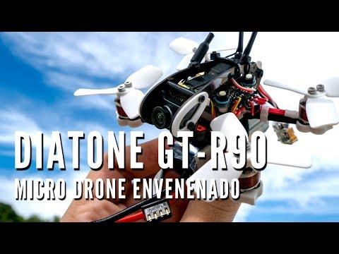 REVIEW DIATONE GT-R90 PORTUGUÊS DRONE RACER